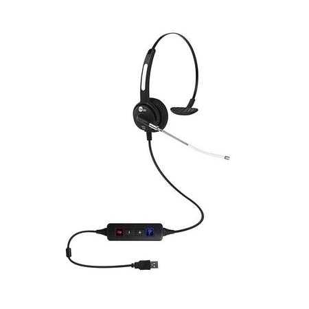Headset USB VoIP HTU-310 Top Use Tubo de Voz Removível