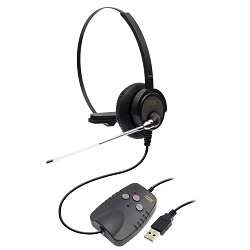Adaptador de Audio Digital USB DH-50T Zox DS-50 com Headset HZ-50 Zox