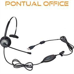 Headset USB VoIP DH-60 Zox Com Fone Headset HZ-30
