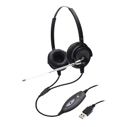Headset USB DH-60TD Zox com Headset HZ-50D
