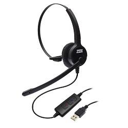 Headset USB VoIP DH-80 Zox com cancelador de ruído