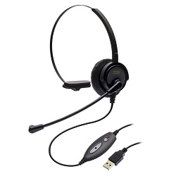 Headset USB DH-60 Zox com headset HZ-30