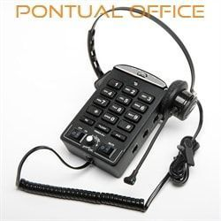 Telefone Headset ITM Base Prima 9-L com Headset HP101-L