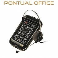 Telefone Headset TH10 Zox Base TS20 com Headset HS10 Tubo de Voz Rígido